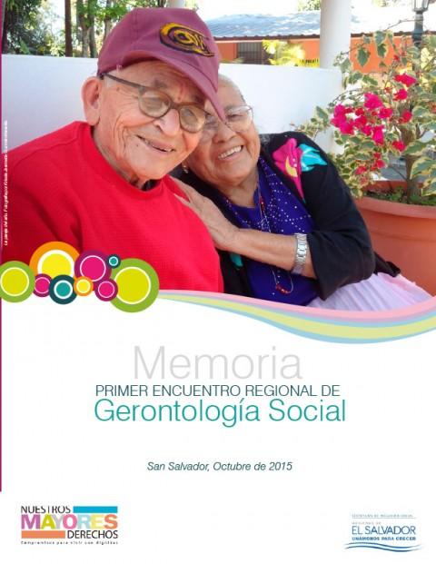 Primer encuentro regional de gerontología social