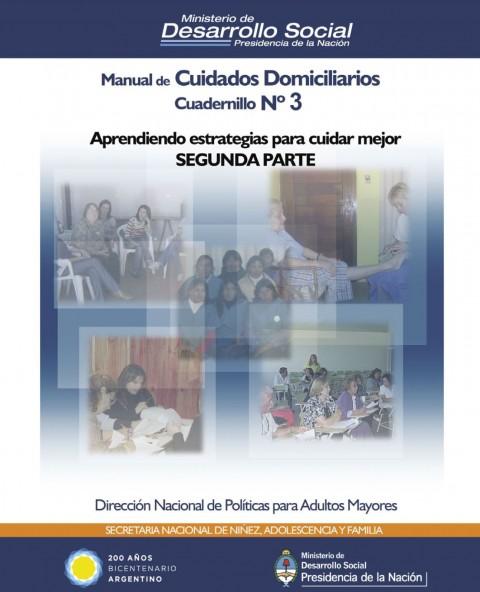 Manual de cuidados domiciliarios – Cuadernillo Nro. 3