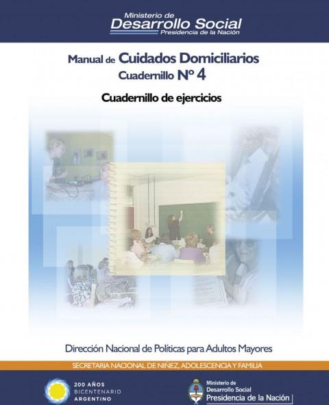 Manual de cuidados domiciliarios – Cuadernillo Nro. 4