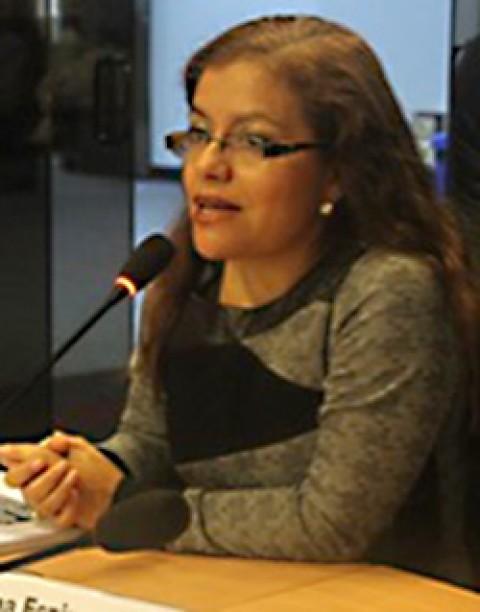 Dra. Elba Espinoza Ríos (Perú)