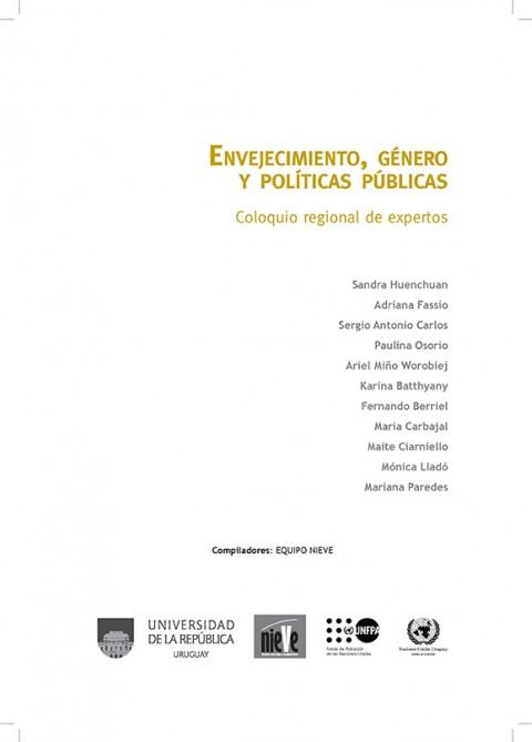 Envejecimiento, género y políticas públicas