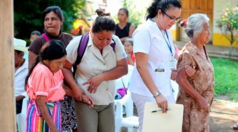 El Salvador: Jornada de atención a personas adultas mayores de pueblos originarios