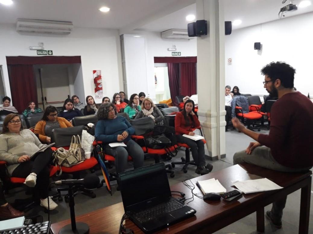 Algec avanza con el Curso de Gerontología Comunitaria