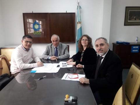 ALGEC, OISS y el Ministerio de Desarrollo Social de Córdoba acuerdan capacitar en gerontología a los cuadros técnicos y profesionales de la provincia