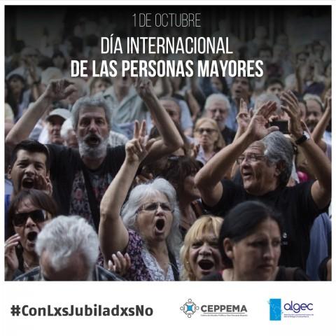 1 de octubre: Día Internacional de las Personas Mayores