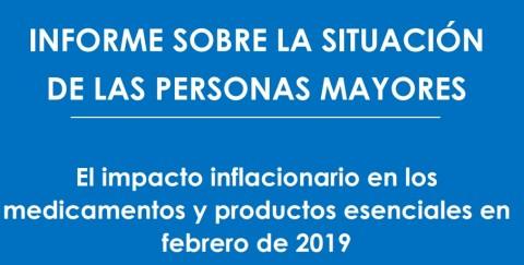La situación de las Personas Mayores en Argentina: el impacto inflacionario en medicamentos y alimentos