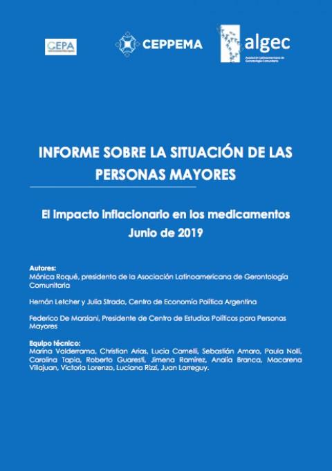 Informe sobre la situación de las Personas Mayores en Argentina – Junio 2019