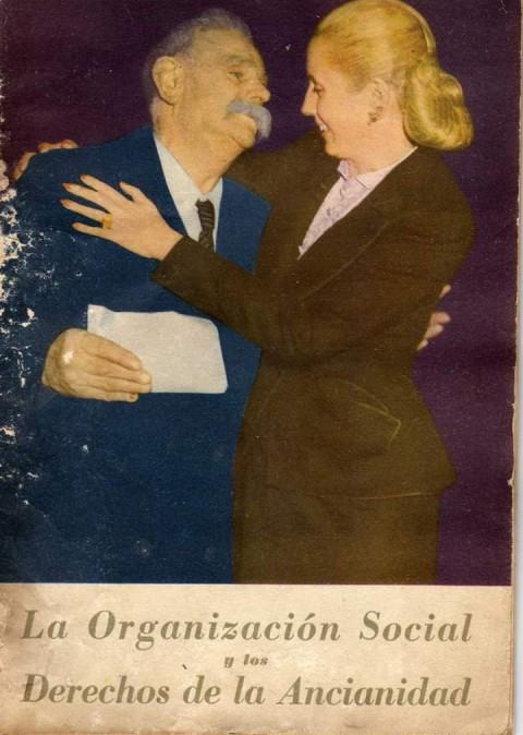 """Hace 71 años Eva Perón anunciaba el """"Decálogo de la ancianidad"""""""