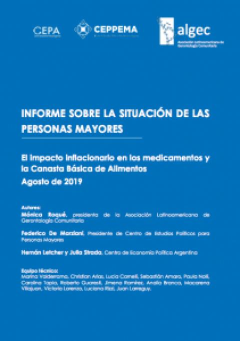 Agosto: Informe sobre la situación de las personas mayores en Argentina