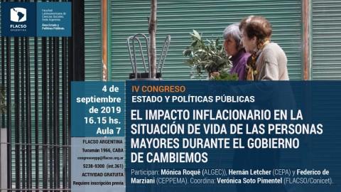 Argentina: IV Congreso Nacional Estado y Políticas Públicas en Flacso
