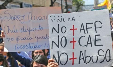 Chile: Las personas mayores le exigen al gobierno que se respeten sus derechos