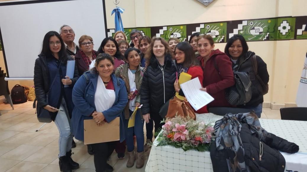Algec participó de la 1º Jornada Interdisciplinaria de Gerontología en Jujuy