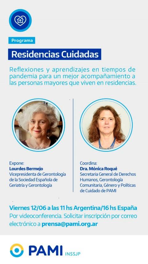 Programa Residencias Cuidadas de PAMI: Reflexiones y aprendizajes en tiempos de pandemia