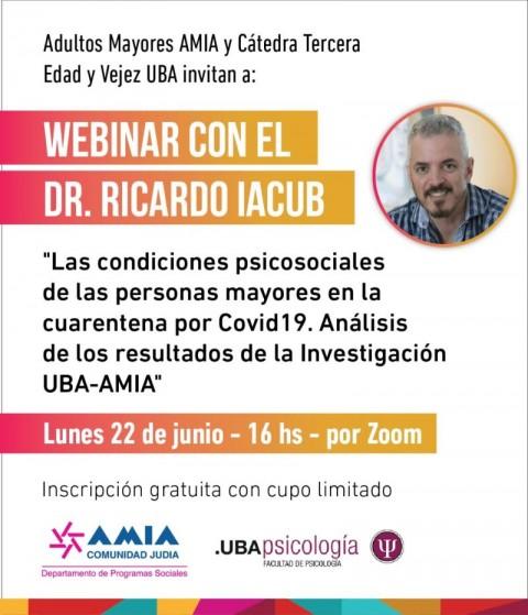 Webinario: Análisis de los resultados de la Investigación UBA-AMIA
