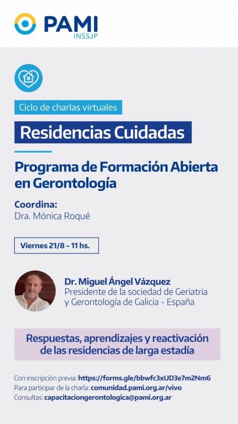 """Argentina: """"Respuestas, aprendizajes y reactivación de las residencias de larga estadía"""""""