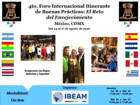 """México: 4° Foro Internacional Itinerante Buenas Prácticas """"El Reto del Envejecimiento"""""""