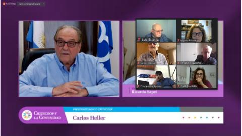 """ALGEC presente en la edición virtual de """"Credicoop y la Comunidad"""" en apoyo a la entidad"""