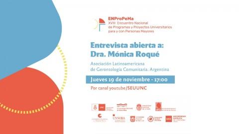 ALGEC participará del 18° Encuentro Nacional de Programas y Proyectos Universitarios para y con Personas Mayores