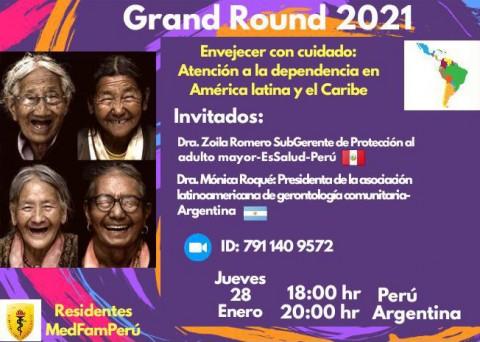 Envejecer con cuidado: Atención a la dependencia en América Latina y El Caribe