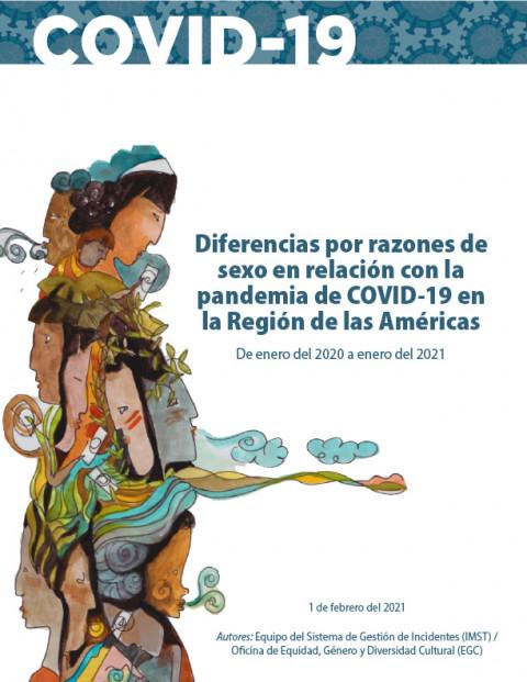 """""""Diferencias por razones de sexo en relación con la pandemia de COVID-19 en la Región de las Américas"""""""