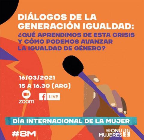 Diálogos de la Generación Igualdad: ¿Qué aprendimos de esta crisis y cómo podemos avanzar la igualdad de género?