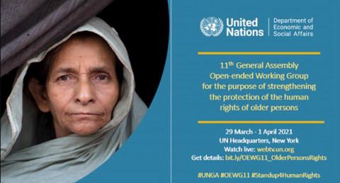 ONU: Finalizó el encuentro del Grupo de Trabajo de composición abierta sobre el envejecimiento
