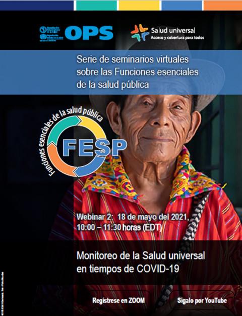 Seminario virtual de la OPS sobre Funciones Esenciales de Salud Pública