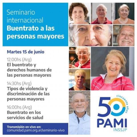 """Seminario Internacional """"Buentrato a las personas mayores"""""""