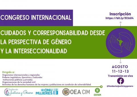 Congreso Internacional: Cuidados y Corresponsabilidad desde la Perspectiva de Género y la Interseccionalidad