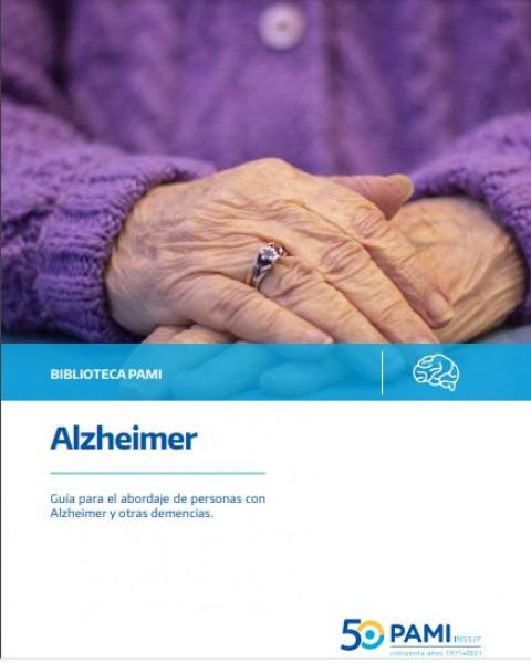 PAMI presentó la Guía para el abordaje de personas con Alzheimer y otras demencias