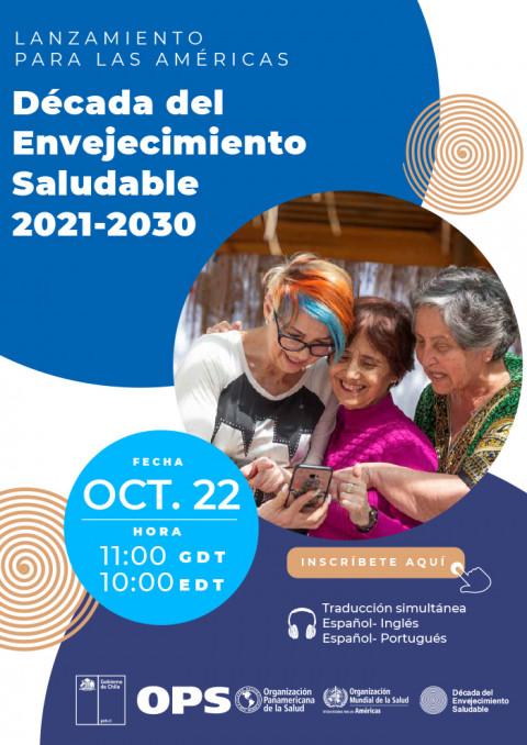 Lanzamiento para Las Américas – Década del Envejecimiento Saludable 2021-2030
